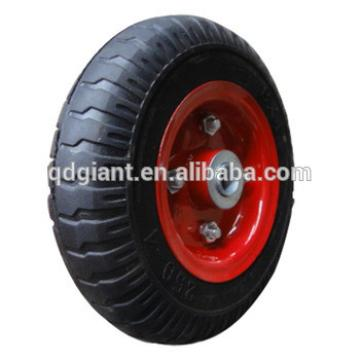 wagon cart wheel solid rubber wheel 8''x2.50-4