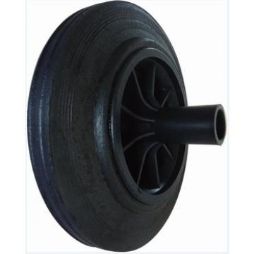 200mm solid rubber wheel for trash bin / waste bin