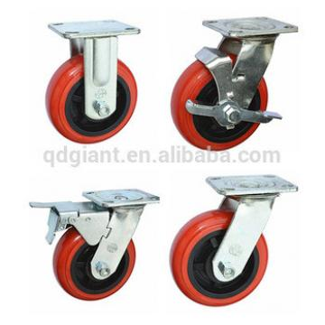 made in china tool carts flexible tire castor wheel