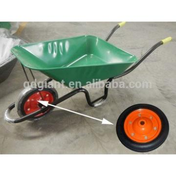 13inch steel rim solid rubber wheel wheelbarrow wheel with good bearing