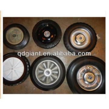 popular model 8*1.75 plastic / steel rim wagon solid wheel