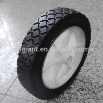"""7""""x1.5"""" solid tyre plastic rims strong solid rubber wheels"""