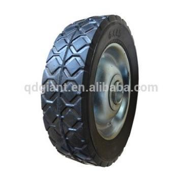 kids wheelbarrow 6inch wheel plastic/metal rim solid wheels