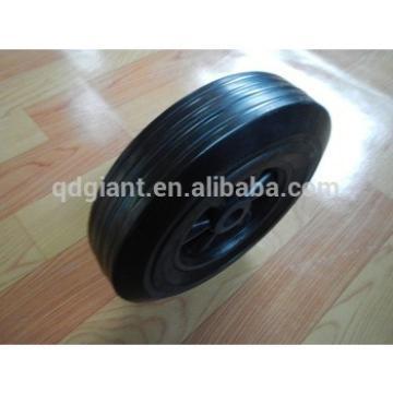 plastic rim solid rubber wheel 10inch wheel