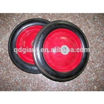 400-8 industrial solid rubber wheel