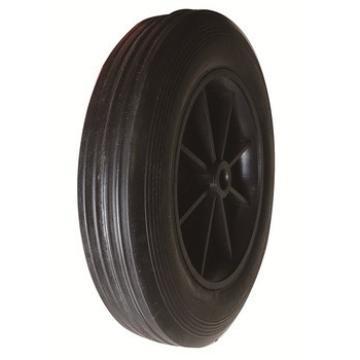 steel or plastic rim 8inch solid wheel