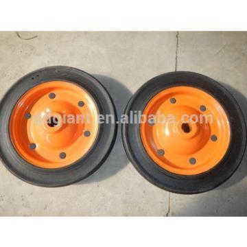 13x3 strong solid wheel steel rim wheel with good bearing