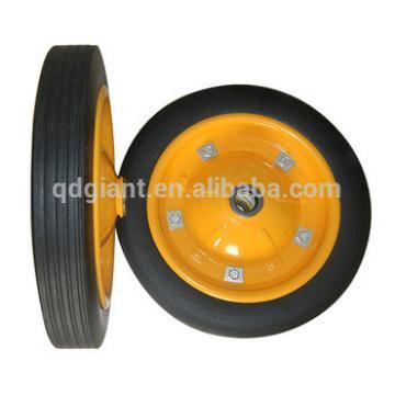 Popular 3800 solid wheels powder coating tyre 13 inch wheel