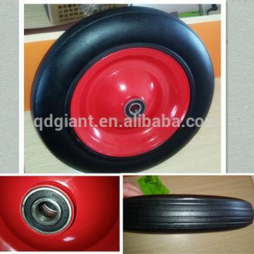 Solid rubber wheel wheelbarrow tyre with good bearing