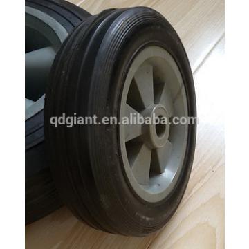 5 inch small wheel lawn mower wheels with plastic rim