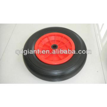 Columbia PU foam rubber wheel 3.50-8