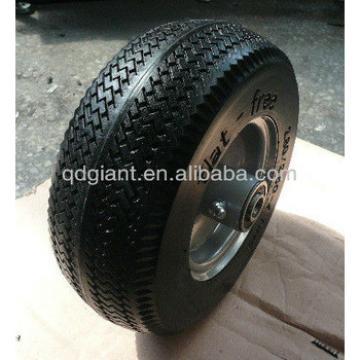 PU foam flate free wheel tire 280/250-4 wheelbarrow wheel