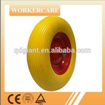 4.00-8 anti-puncture PU foam wheel for wheel barrow