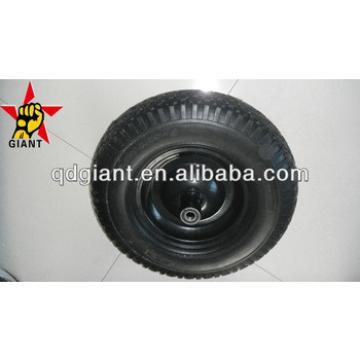 pu foam wheel 4.00-8 for industrial hand cart