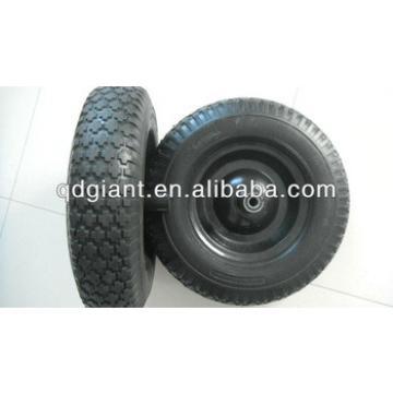 Diamond Pattern PU Wheel 4.00-8