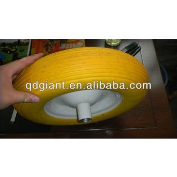 PU foam wheel 4.80/4.00--8 Flat Free wheel