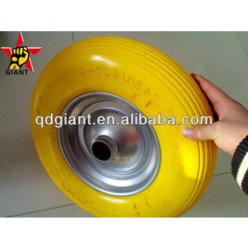 pu foam wheel 4.00-8 for garden/farm wheelbarrow