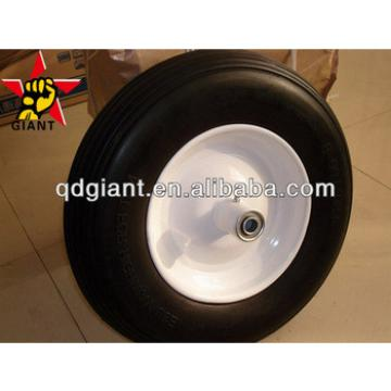 pu foam wheel 4.00-8 for garden/farm wheel barrow