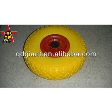 industrial hand trolley pu foam wheel 3.00-4