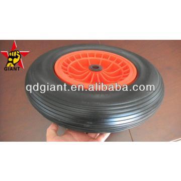 pu foam wheel 4.00-8 for industrial barrow