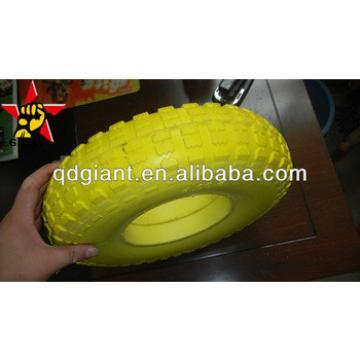 4.00-6 PU foam wheel anti puncture