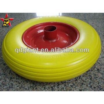 used for industrial hand cart pu foam wheel 4.00-8