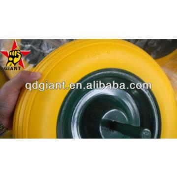 used for building barrow pu foam wheel 4.00-8