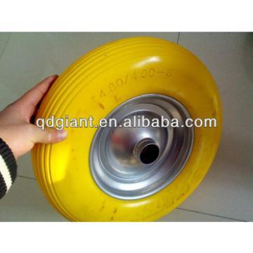 Qingdao Giant supply pu foam wheel (PU 1087) 4.00-8