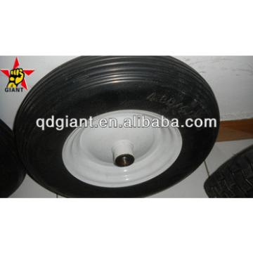 used for farm/garden wheelbarrow pu foam wheel 4.00-8