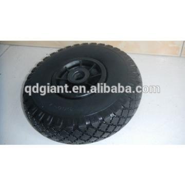 pu foam wheel 3.00-4 with metal rim