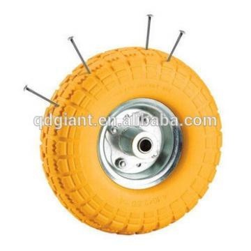 "10"" Pu foam filled tyres for wheelbarow"