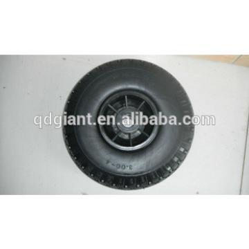 PU foam rubber wheel 3.00-4