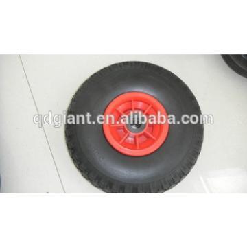 """PU Foam Flat Free Wheels---10"""" x 3.00-4"""