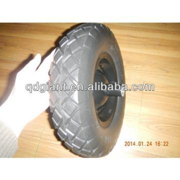 16 inch wheelbarrow PU foam wheel 4.00x8