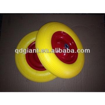 High Quality PU Foam Wheelbarrow Rubber Wheel 4.80/4.00-8 (PU1078)