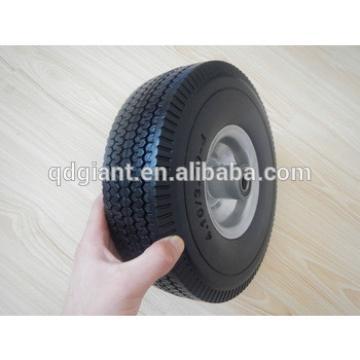 10 inch pu foam wheel 3.50-4 flat free wheel 3.50-4