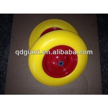 PU 4.00-8 Wheel Solid Foam Rubber Wheel (PU 1078)