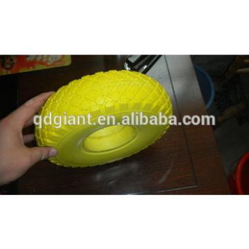 flat free pu foam tires 3.00-4