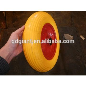 14 inch pu foamed wheel barrow tyre 3.50-8