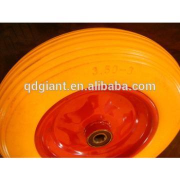 Good quality polyurethane foam tire/pu tyre3.50-8
