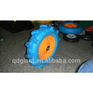 R1 pattern agricultural pu foam wheel 4.00-8