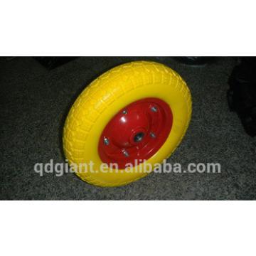 Comb pattern turkey pu foam wheel 3.50-7