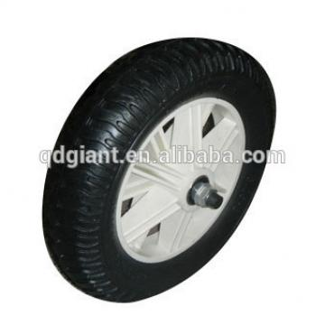 Puncture Proof Wheel PU for Wheelbarrow Complete 3.25-8