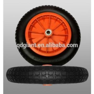 """wheel barrow pu foam wheel 13""""x3.00-8"""