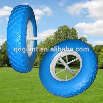 PU foam rubber wheel 4.80/4.00-8/PU wheels for wheelbarrow