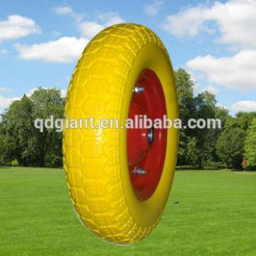 comb pattern PU foam wheels 3.50-7