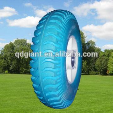 lug pattern republic of korea 3.50-5 wheelbarrow PU wheels for