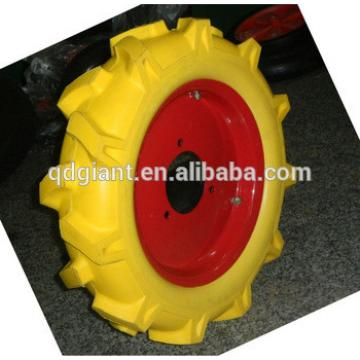 Solid Tubeless PU Foam AGR Tractor Tires and Wheels