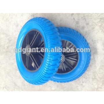 pu foam filled wheel for wheel barrow 3.25-8