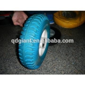flat free polyurethane foam wheels 3.50-5